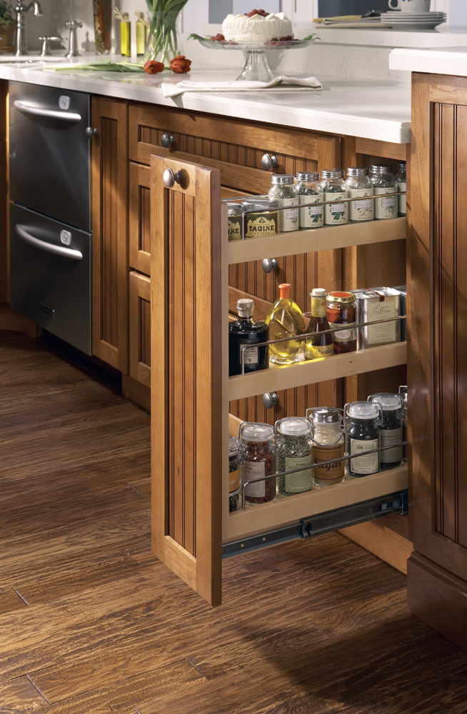 pull spice rack features shelves full extension pull shelves pull trash bin kitchen drawer organizers