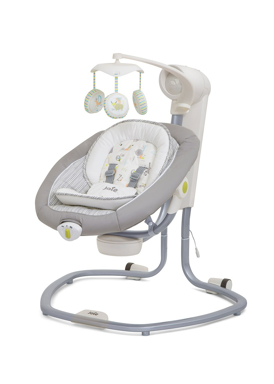 Joie Baby Swing Rocker Joie Serina Swivel Baby Swing Sway Nature S Alphabet