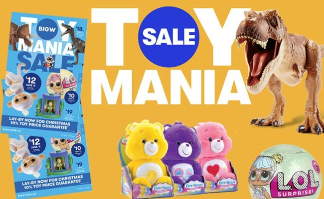 Get Excited Mums And Kids Big W Toy Mania Sale Is On