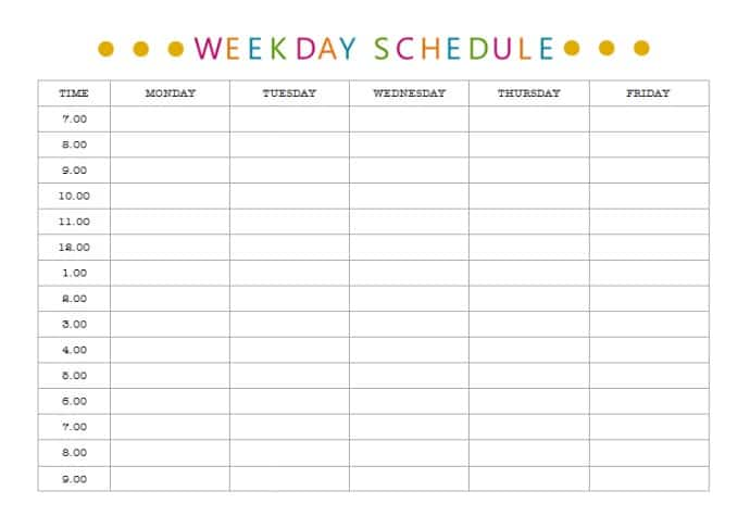 Get organised once and for all How to schedule your time