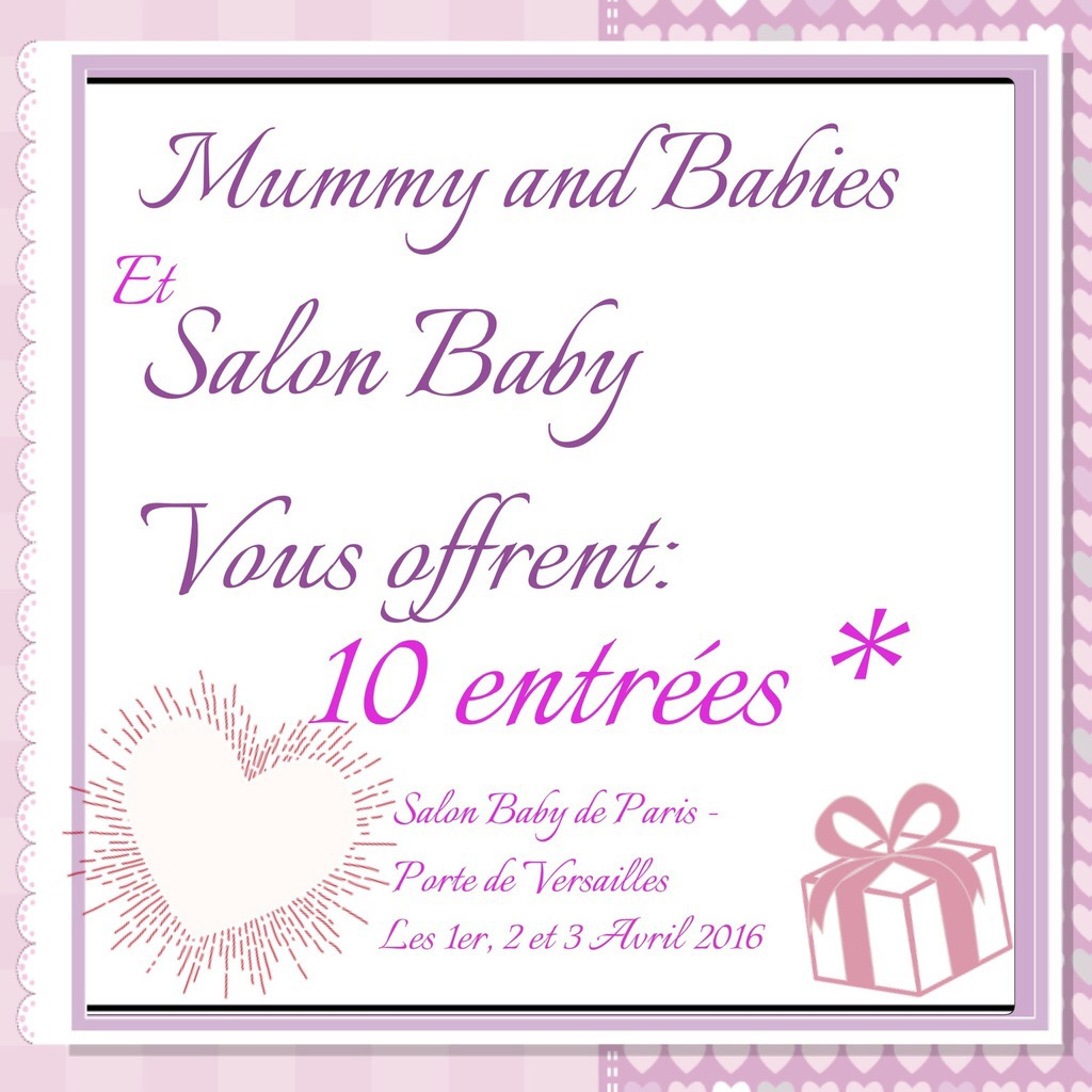 Le Salon Du Bébé Remportez Vos Places Pour Le Salon Baby 2016 De Paris Mummy And