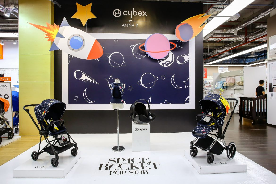 Cybex Stroller Support Cybex By Anna K Launches In Singapore Mummyfique