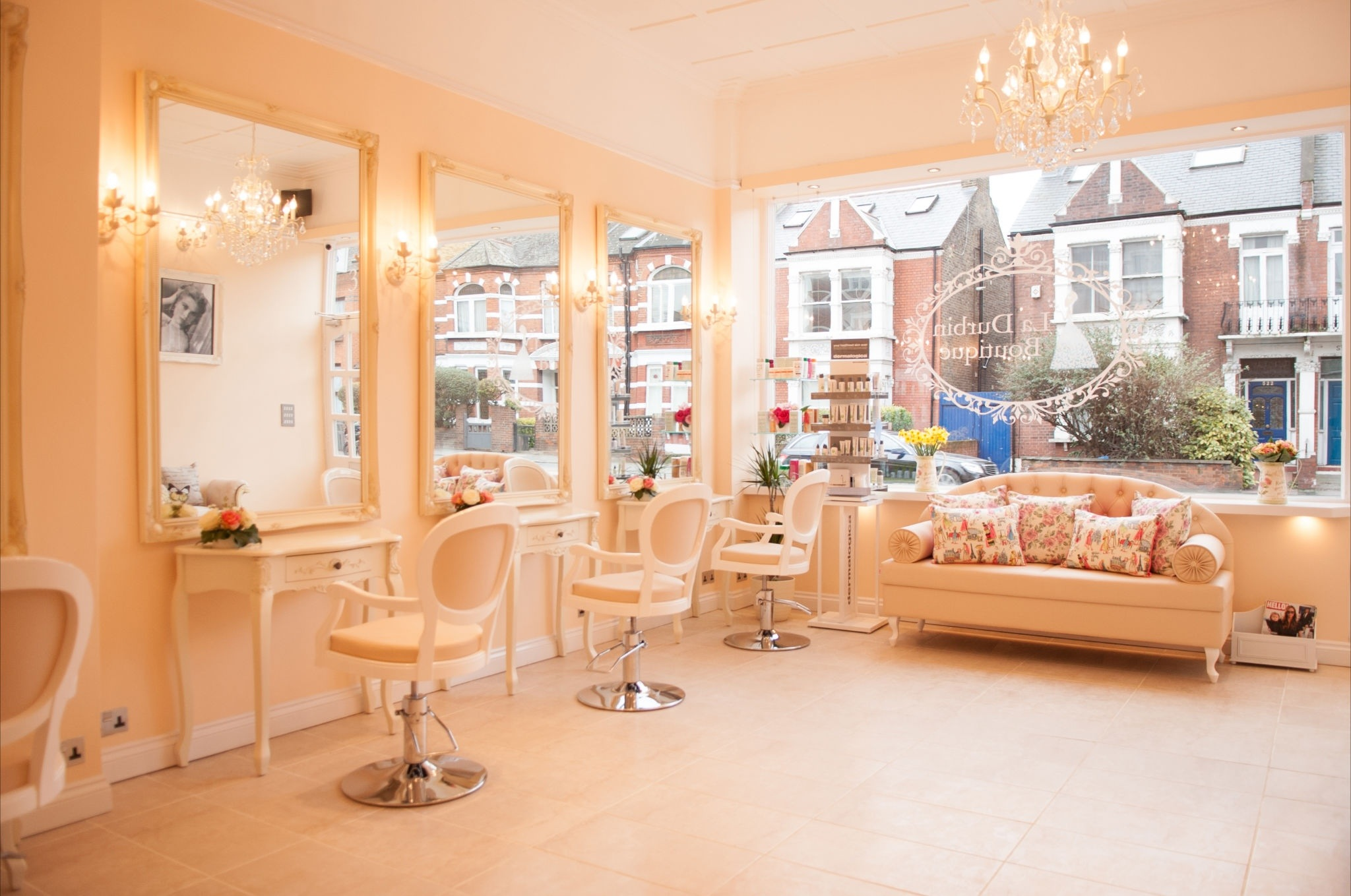 Beauty Hair Salon La Durbin Boutique The Chic Fulham Salon Mummy Of Many