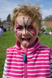 Willow Face Paint Hoo BookFest