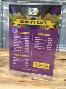 Gravity Force Food prices