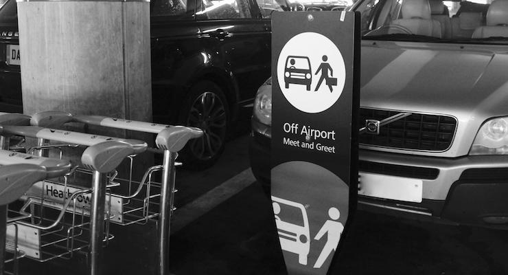 Easy airport parking: Purple Parking meet and greet review