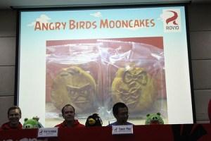 Angry Birds Mooncake