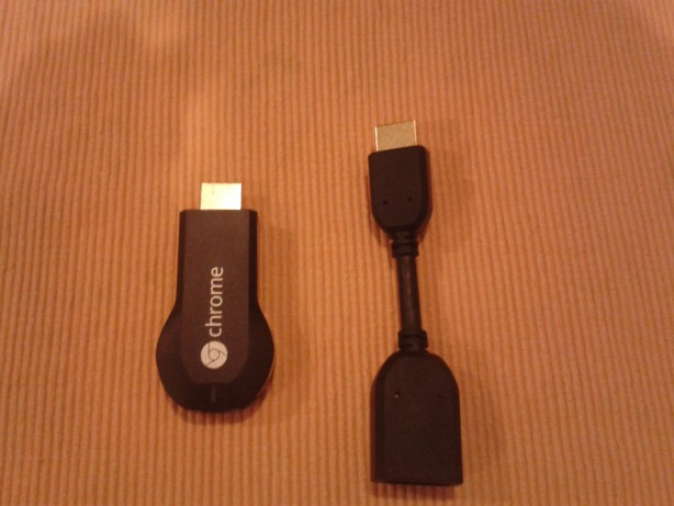 HDMI Adapter and Chromecast Dongle