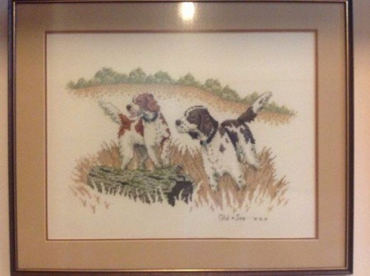 Cross Stitch Dogs
