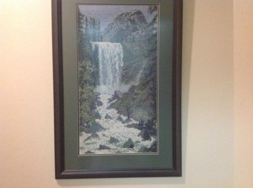 Cross Stitch Waterfall