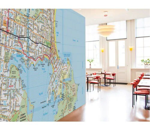 Baby Cots Brisbane Australia Melways Maps Wall Stickers