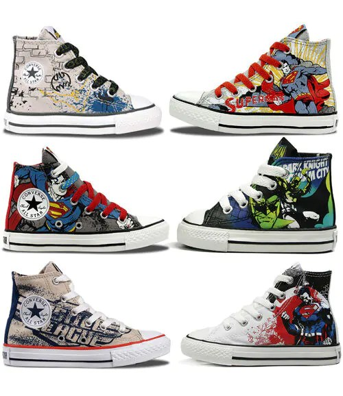 Baby Cots Baby City Converse Dc Comics Kids 39; Hi Top Sneakers