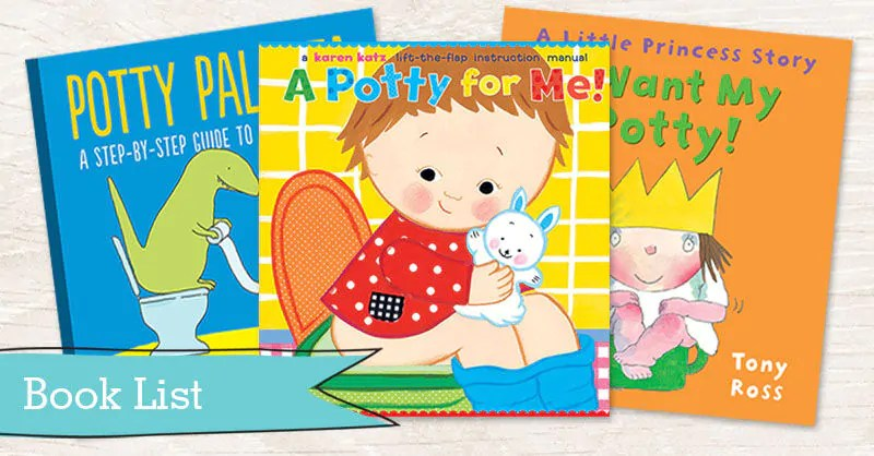 Book List 13 Books To Encourage Toilet Training Tots