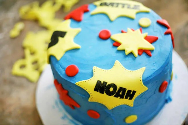 Birthday Banner Party City Cakespiration: 13 Superhero Cakes For The Ultimate Party