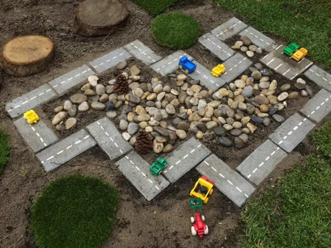 14 Diy Outdoor Racetracks You Can Make At Home Mum39s