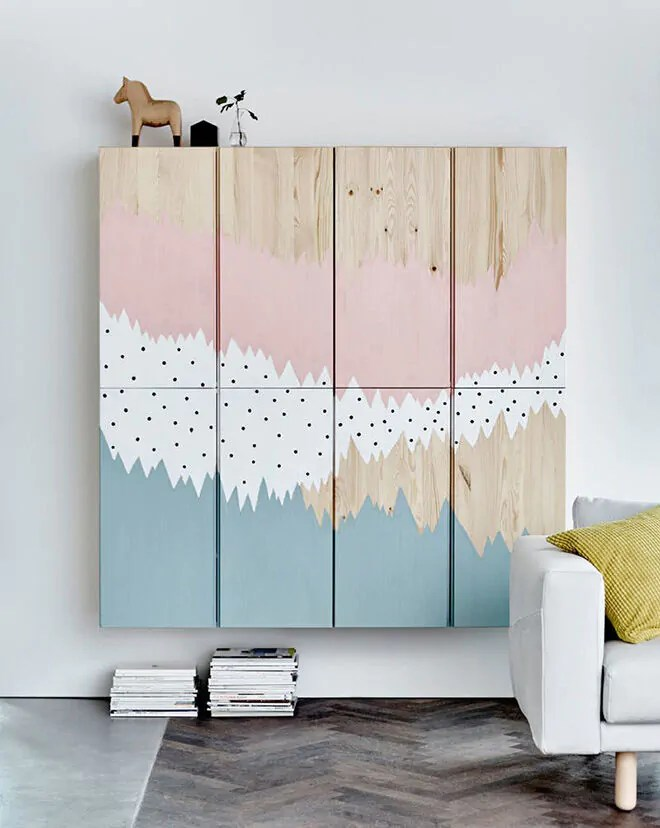 Ikea Bed Sheets Ikea Ivar Hack: 10 Ways To Prettify The Plain Pine Cabinet