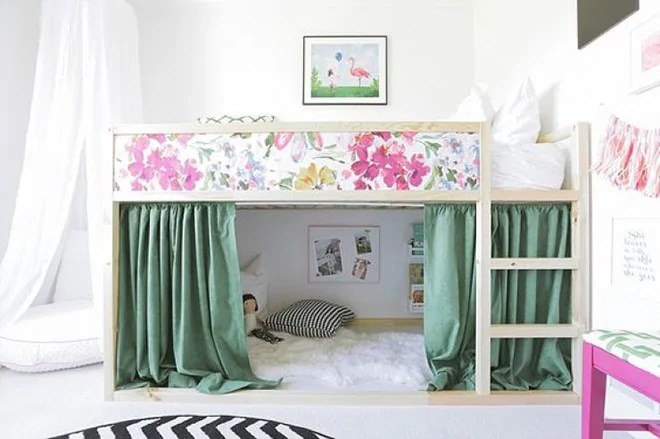 Kura Bed Tent 5 Easy And Stylish Makeovers For The Ikea Kura Bed | Mum's