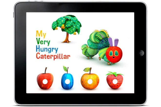 Egg Strollers Review App Review My Very Hungry Caterpillar By Storytoys