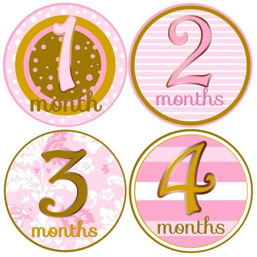Medium Crop Of Baby Month Stickers