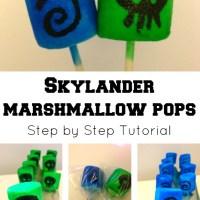 Bake: Skylanders Marshmallow Pops