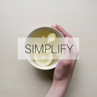 Simplify: time for a spring clean