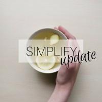 Simplify: Month 3: Update