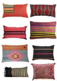 Kilim pillows to decorate in ethno style | munahome