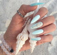 10 'Something Blue' Stiletto Nail Designs We Love