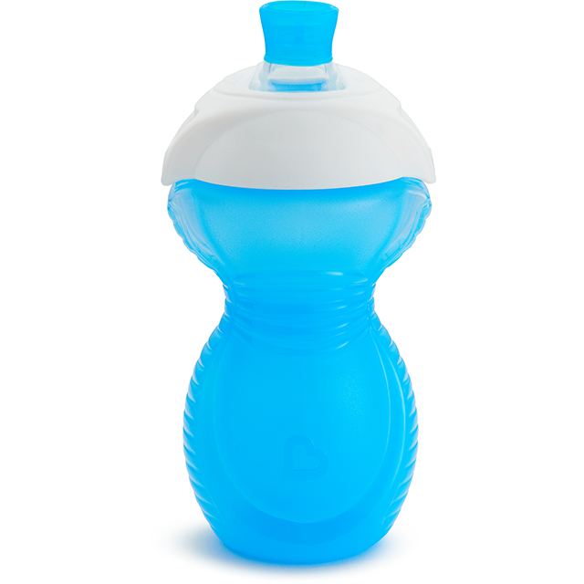 Infant Car Seat Parts Click Lock Bite Proof Sippy Cup 9oz Blue Munchkin