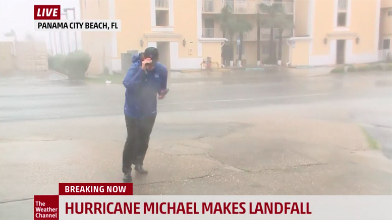 weather channel live stream hurricane michael