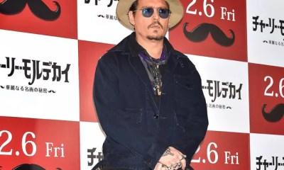 Johnny Depp no Japão em janeiro de 2015 (Foto: Getty Images)