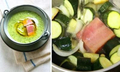 Caldo de abobrinha com bacon (Foto: AJW Images)