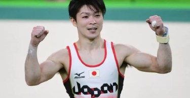 O fenômeno japonês fez de tudo para manter a hegemonia na modalidade (Foto: Getty Images)