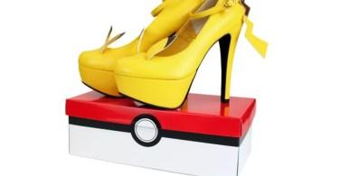 Coleção de sapatos Pikachu: modelo High Heels (Foto: Divulgação)