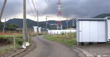 O incidente ocorreu em uma estrada na cidade de Isehara (Foto: Reprodução/TBS TV)