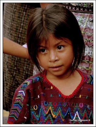 Rostros en Guatemala. Baja Verapaz - foto por German Velasquez.