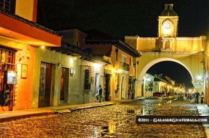 Foto por Mynor Marino Mijangos - El Arco de Santa Catarina, Antigua Guatemala.