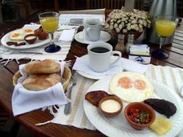 Desayuno muy Chapin - Foto por Brenda Mendez Aceituno **Guatemalan Breakfast.