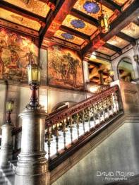 Interior del Palacio Nacional de la Cultura - foto por David Rojas
