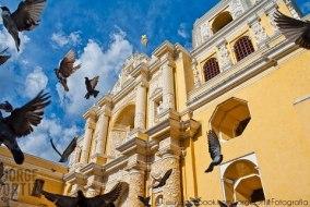 La Merced, Antigua Gautemala - foto por Jorge Ortiz