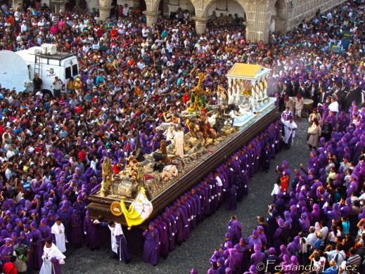 Procesion de Jesus de La Caida - foto por Fernando Lopez
