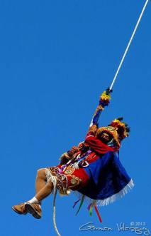 Palo Volador en Cubulco, Baja Verapaz - foto por German Velasquez de Baja Verapaz Foto Diaria.