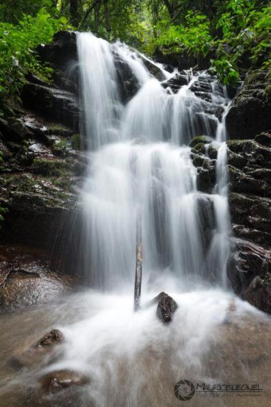 Cascada en la Reserva Natural en Huehuetenango - foto por Mauricio Elgueta