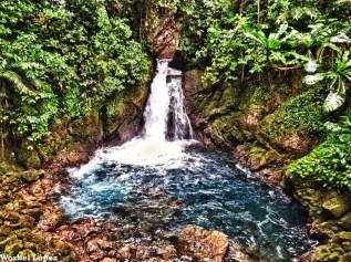 Cascada en Hun Nal Ye, Alta Verapaz - foto por Wosbel Lopez