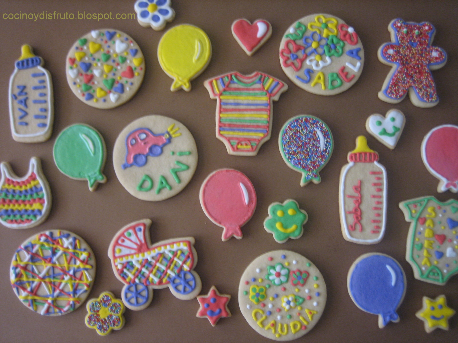 Como Decorar Galletas De Corazon Galletas Infantiles Decoradas Mundocookies