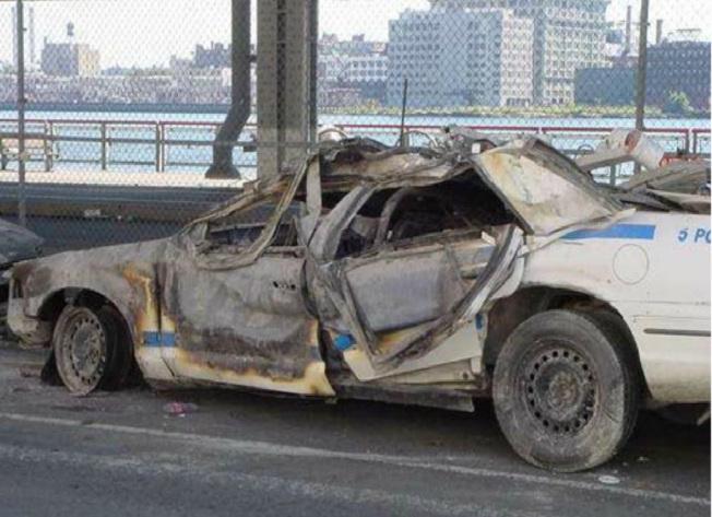 coche-quemado-11-s-no-fuego CIMÁTICA; DANDO VIDA A LA MATERIA CON EL SONIDO (HANS JENNY, 1968)