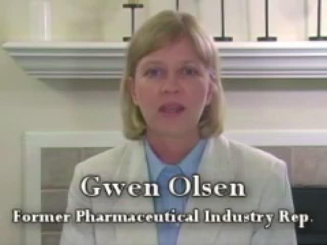 Gwen Olsen confiesa el Fraude de la industria farmacéutica