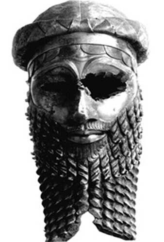 Cabeza-bronce-antiguo-rey-1 ¿Fueron Bolivia y Perú la Tierra de los ultimos sumerios?