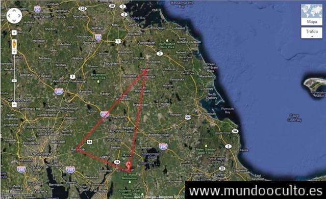 El misterioso triángulo Bridgewater de Estados Unidos