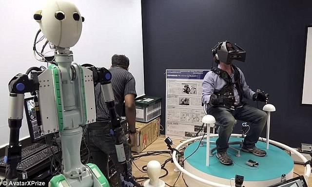 avatar-x-prize Robots permitirán transportar la consciencia humana a cualquier parte del mundo